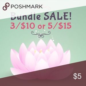 $5 FIVE DOLLAR SALE WITH DISCOUNTED SHIPPING